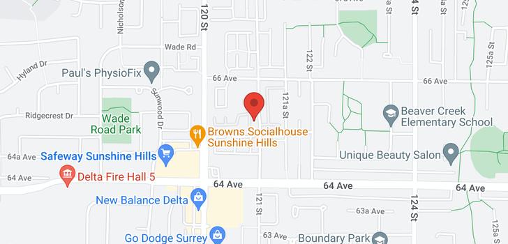 map of 50 6533 121 STREET