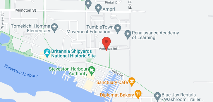 map of 434 5600 ANDREWS ROAD