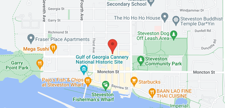 map of 305 3755 CHATHAM STREET