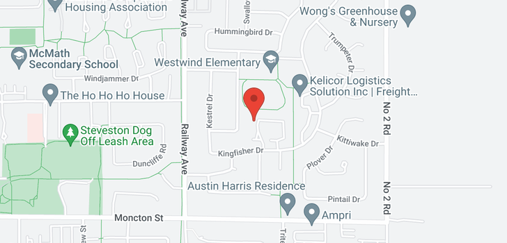 map of 50 11771 KINGFISHER DRIVE