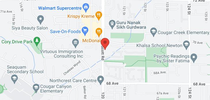 map of 104 6960 120 STREET