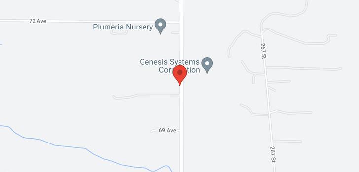 map of 7019 264 STREET