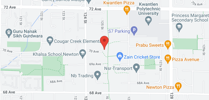 map of 12483 70 AVENUE