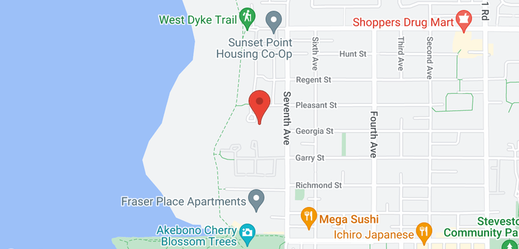 map of 31 11391 7TH AVENUE