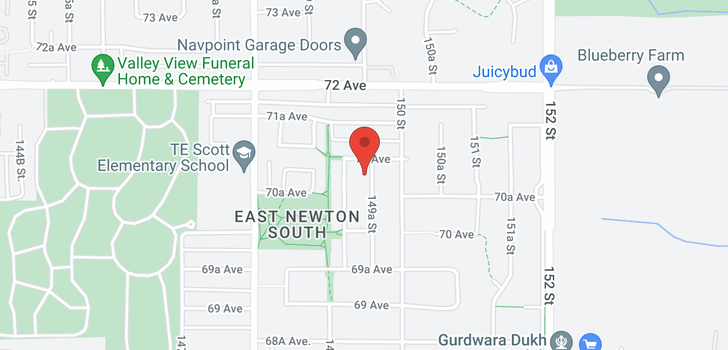 map of 7085 149A STREET