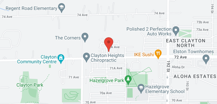 map of 38 7238 189 STREET