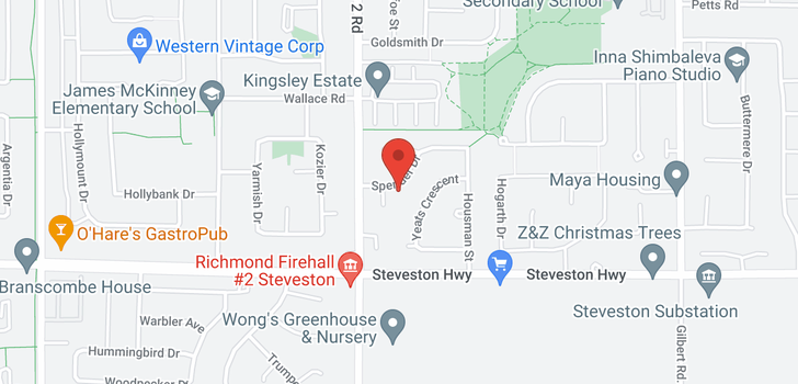 map of 6100 SPENDER DRIVE