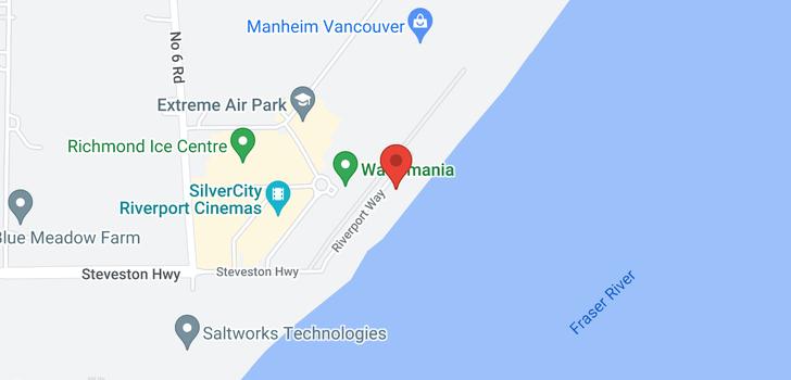 map of 209 14300 RIVERPORT WAY