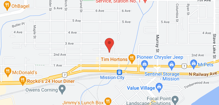map of 113 33165 2ND AVENUE