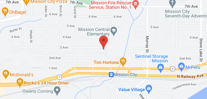 map of 33162-33164 3RD AVENUE