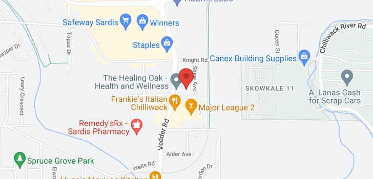 map of 102 45729 GAETZ STREET