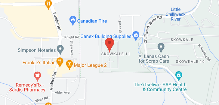 map of 40 45918 KNIGHT ROAD