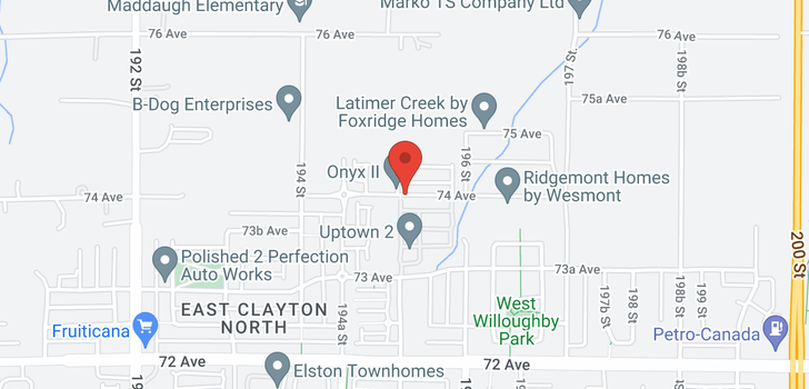 map of 9 19483 74 AVENUE
