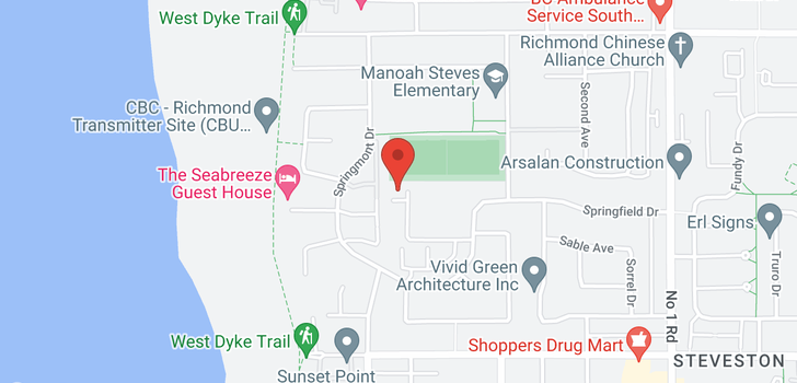 map of 202 3391 SPRINGFIELD DRIVE