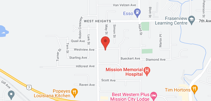 map of 32036 WESTVIEW AVENUE