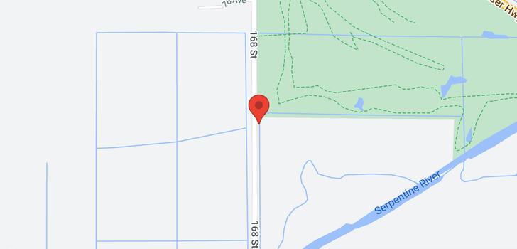 map of 7430 168 STREET