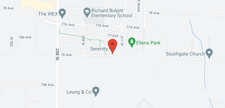 map of 11 21017 76 AVENUE