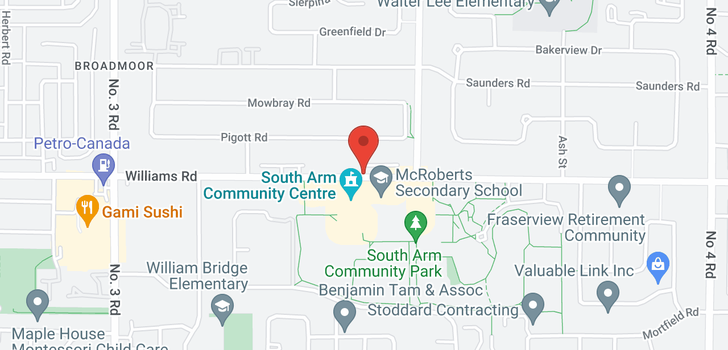 map of 9 8699 WILLIAMS ROAD