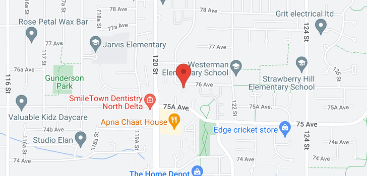map of 3 12070 76 AVENUE