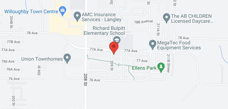 map of 66 7686 209 STREET