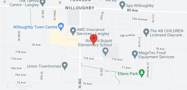map of 205 7811 209 STREET