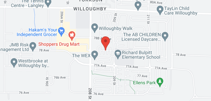 map of 202 7811 209 STREET