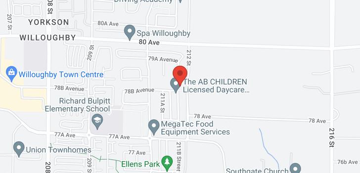 map of 7876 211B STREET