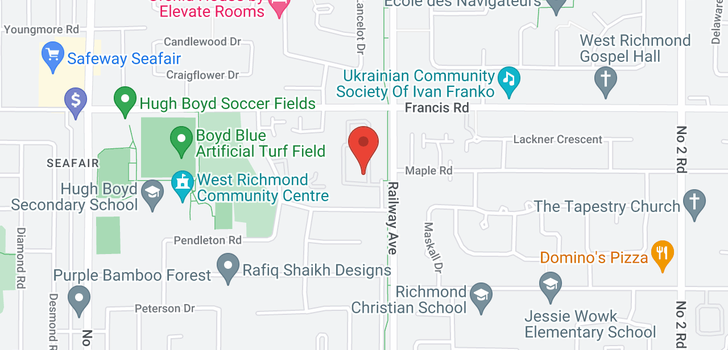 map of 1601 4900 FRANCIS ROAD
