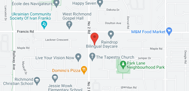 map of 6051 MAPLE ROAD