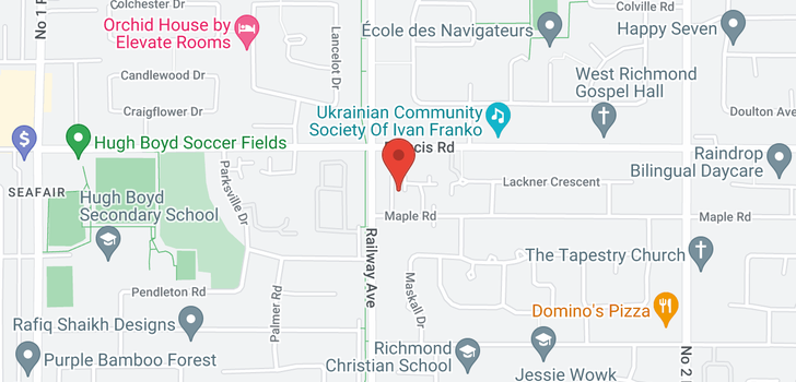 map of 201 9320 PARKSVILLE DRIVE