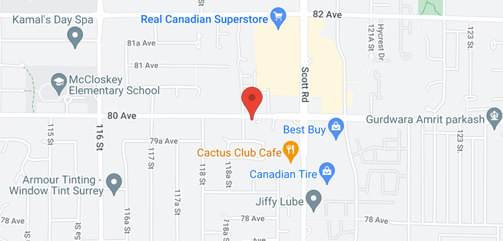 map of 803 11910 80TH AVENUE