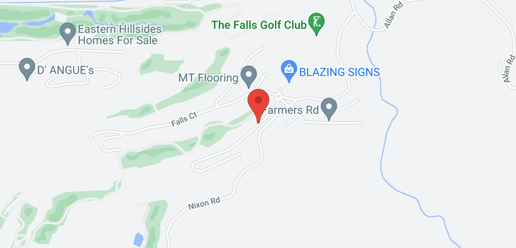 map of 126 51096 FALLS COURT