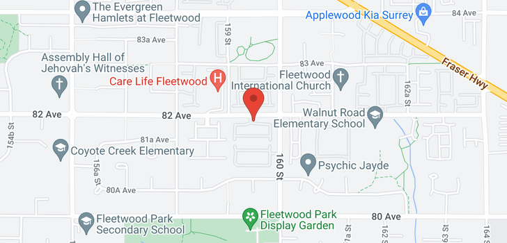 map of 56 15968 82 AVENUE