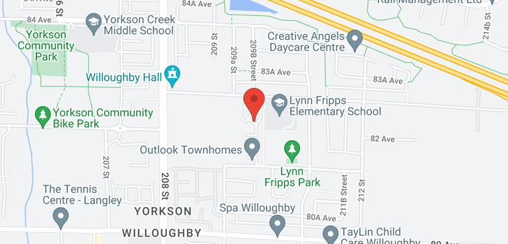 map of 78 8250 209B STREET