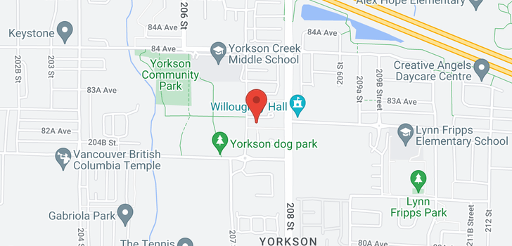 map of 440 8288 207A STREET