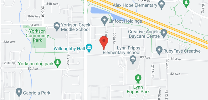 map of 403 20861 83 AVENUE