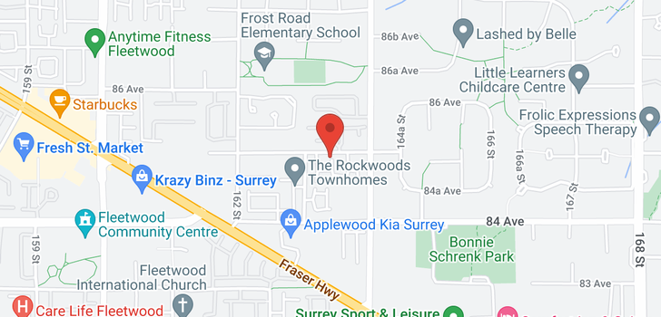 map of 79 16388 85 AVENUE
