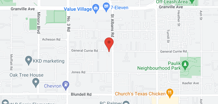 map of 7 8380 GENERAL CURRIE ROAD