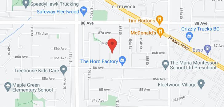 map of 8658 PRESTIGE PLACE
