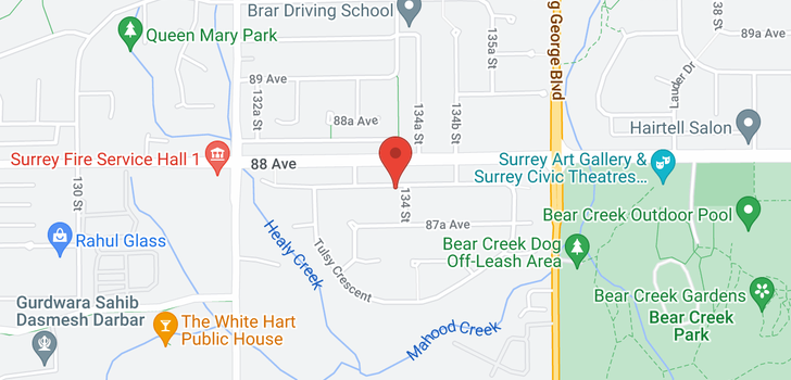 map of 8823 134A STREET