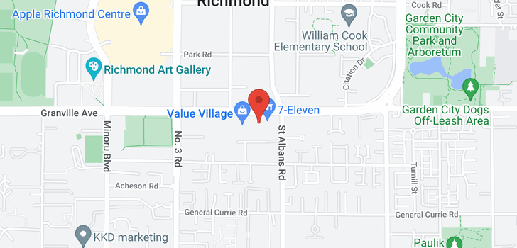 map of 1910 8288 GRANVILLE AVENUE