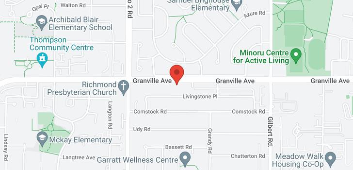 map of 6260 GRANVILLE AVENUE
