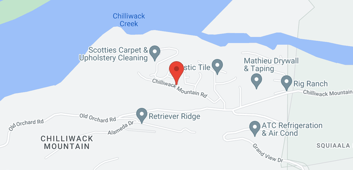 map of 26 43685 CHILLIWACK MOUNTAI ROAD
