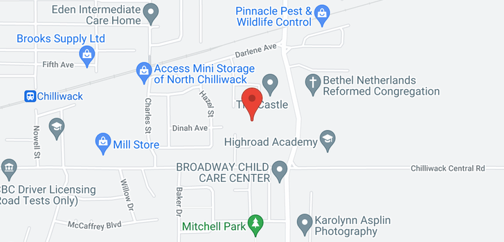 map of 9 8881 WALTERS STREET