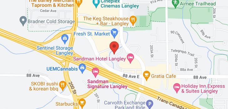 map of D303 8929 202 STREET