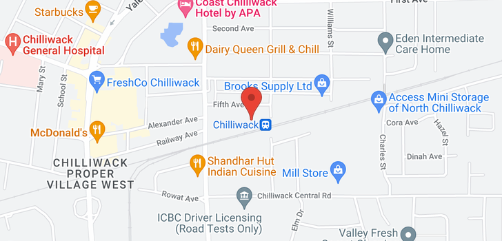 map of 46060 FIFTH AVENUE