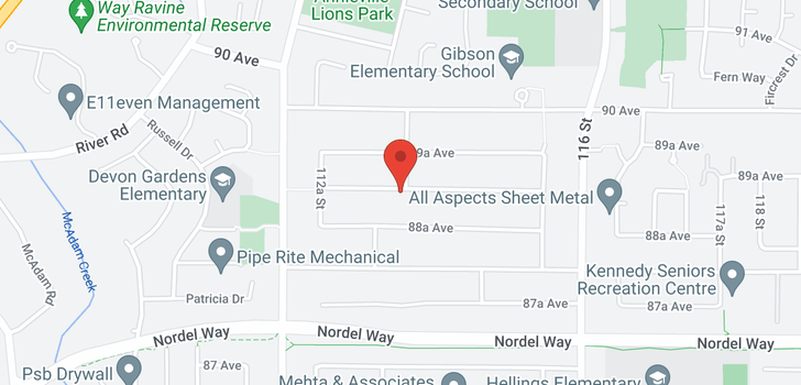 map of 11344-11348 89 AVENUE