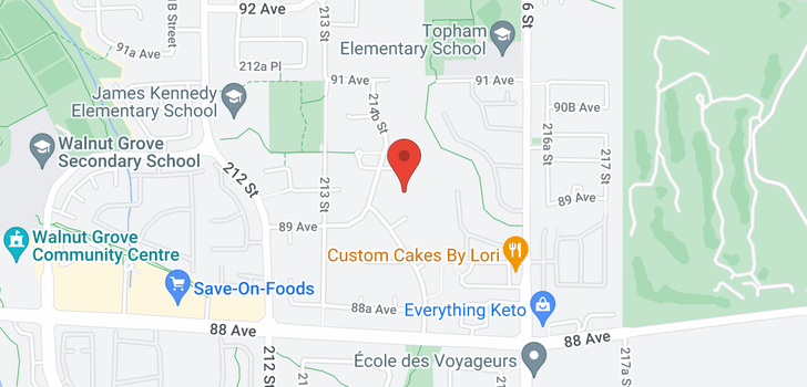 map of 21496 90 AVENUE