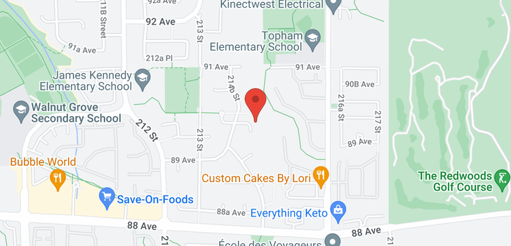 map of 21489 90 AVENUE