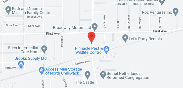 map of 9139-9141 BROADWAY STREET